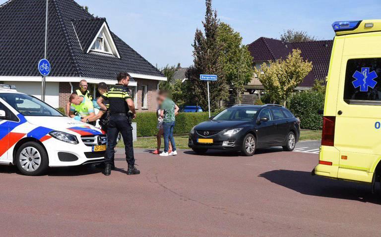 Scooterrijder schreeuwt het uit van de pijn na botsing in Barger-Oosterveld.