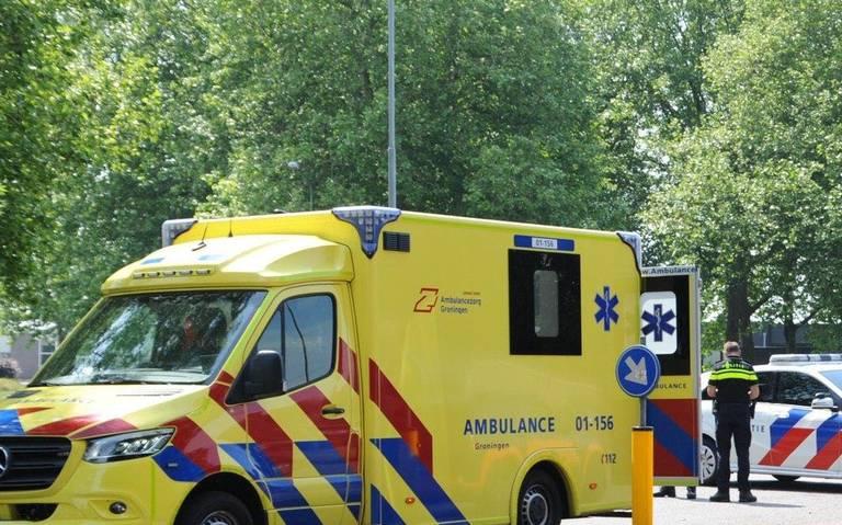 Scooterrijder gewond bij aanrijding in Winschoten.
