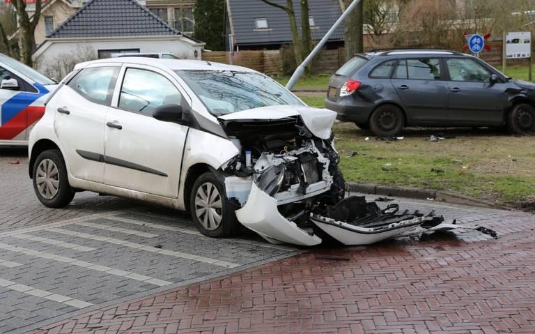 Gewonde bij ongeval op kruising Exloo.