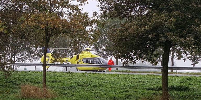 A7 bij Zuidbroek is na ernstig ongeluk weer vrijgegeven.