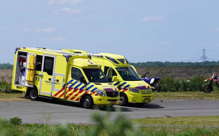 Motorcoureurs gewond na botsing op kartcircuit Pottendijk.