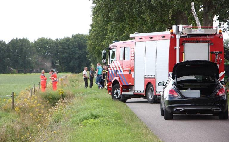 Motorrijder zwaargewond bij ernstig ongeval in Wijster.