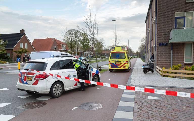 Scooterrijder en passagier gewond door aanrijding in Hoogeveen.