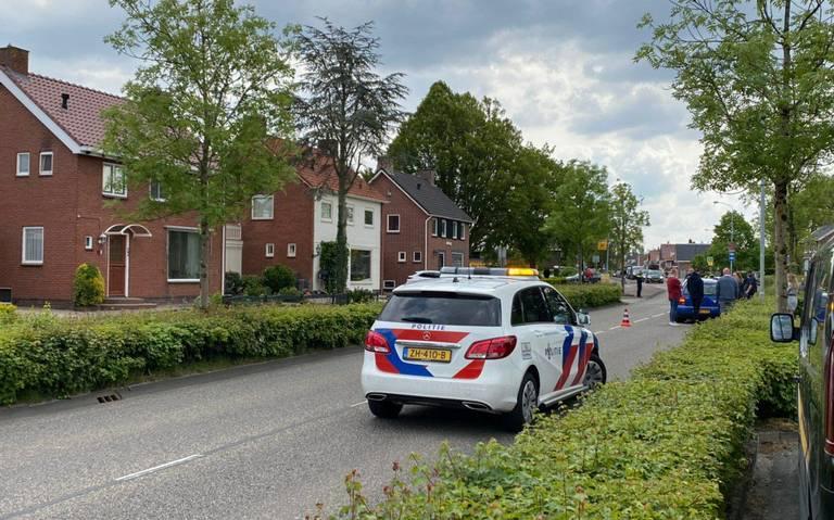 Botsing tussen vier autos in Winschoten.