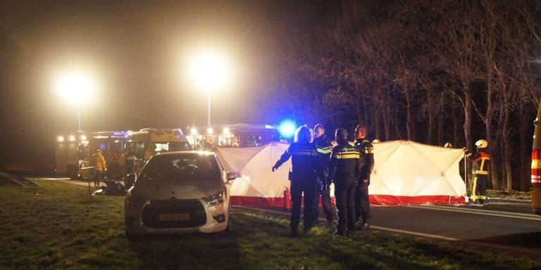 Meerdere voertuigen betrokken bij ongeluk op N34 bij Dalen.
