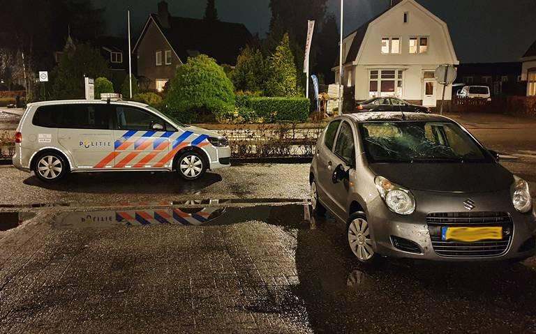 Fietser gewond bij aanrijding met auto op Hoofdweg in Paterswolde.
