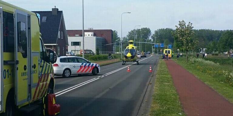 Twee zwaargewonden bij ongeluk Hoogkerk.