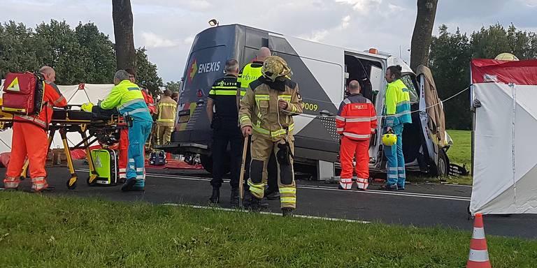 Man uit Havelte overleden bij ongeluk op N855 bij Dwingeloo.