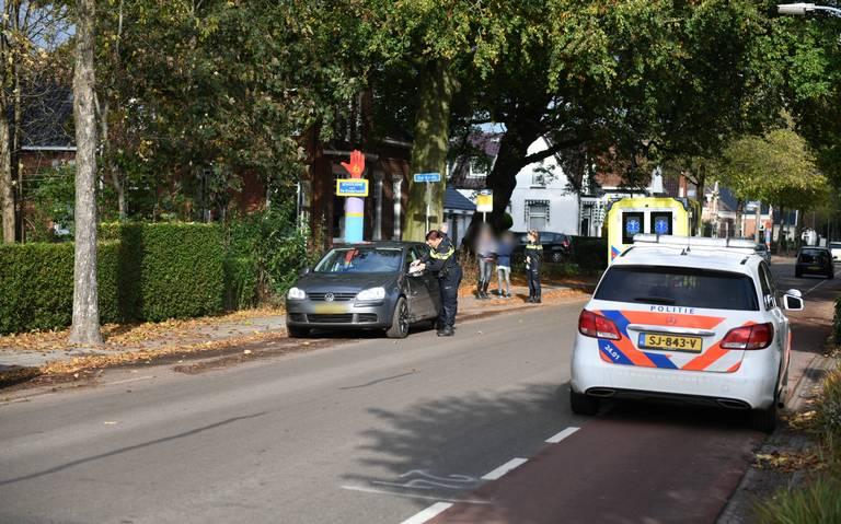 Scooterrijder gewond bij aanrijding met auto in Slochteren.