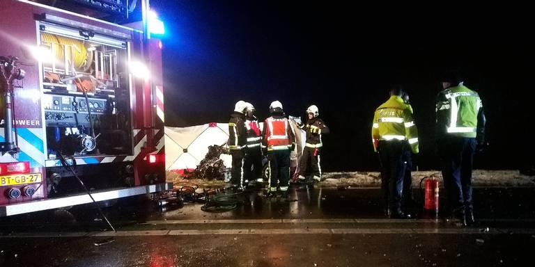 Man uit Haren omgekomen bij ongeval op N34.