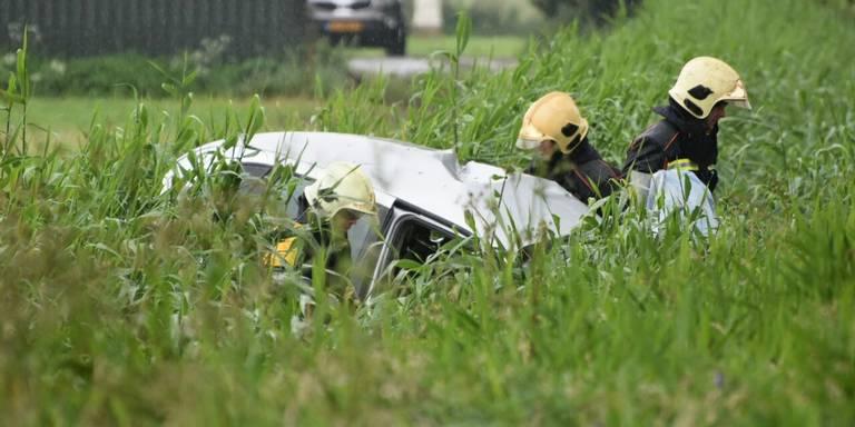 Groningse ernstig gewond bij ongeluk op N363.