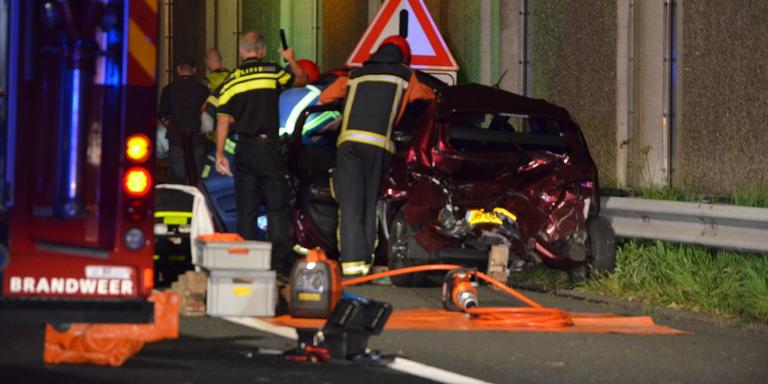 Benkinkbaan in Meppel afgesloten na ongeval.