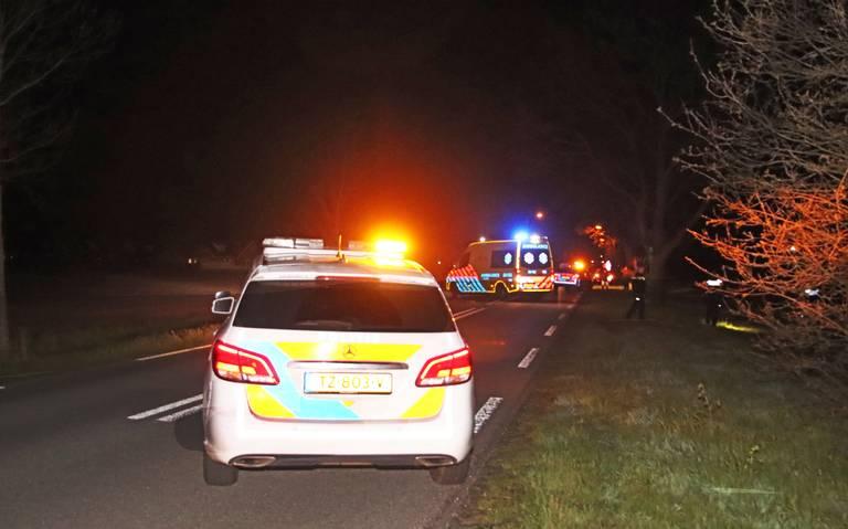 Voetganger in Klazienaveen aangereden door scooterrijder, bestuurder rijdt door.