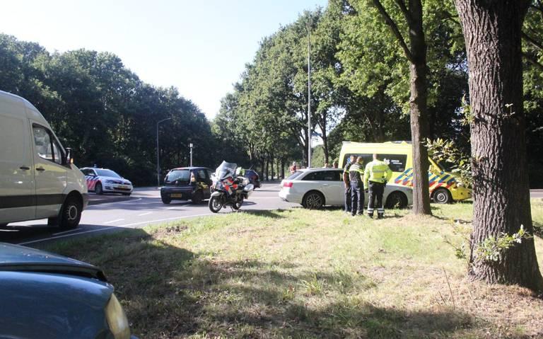 Gewonde bij auto-ongeluk op Europaweg Noord in Assen.