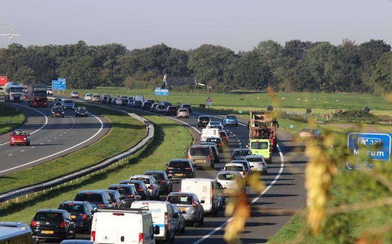 File na ongeluk op A2 bij Eindhoven opgelost.
