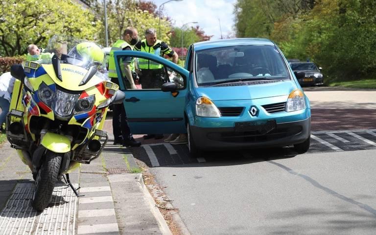 Fietser gewond door aanrijding met auto in Paterswolde.
