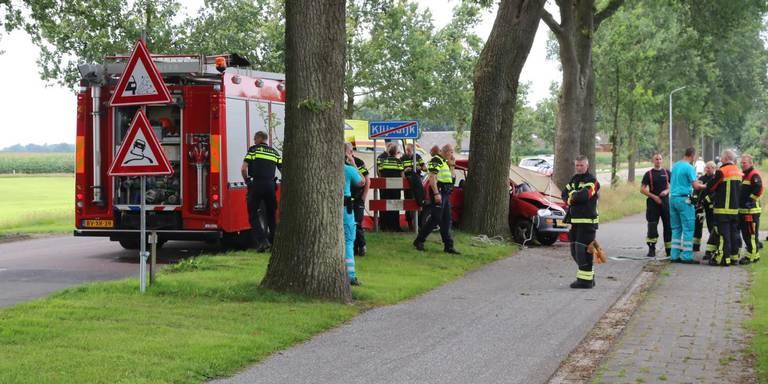 Automobilist overleden na ongeval Klijndijk.