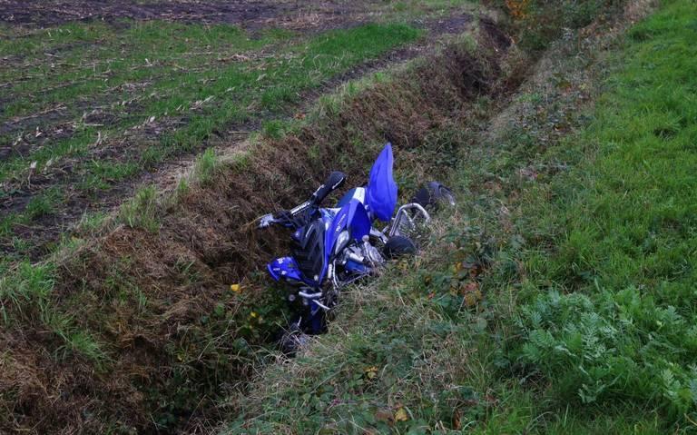 Vrouw raakt gewond bij eenzijdig ongeval met quad in Gasselte.
