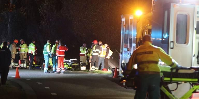 Vier gewonden na ongeval in Oldehove.