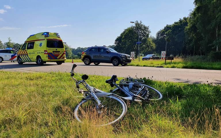 Fietser overleden na ongeval in De Punt.