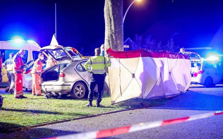 Persoon raakt ernstig gewond bij eenzijdig ongeval bij Donderen.