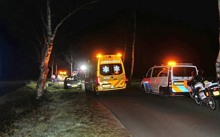 Fietser gewond bij aanrijding in Dwingeloo.