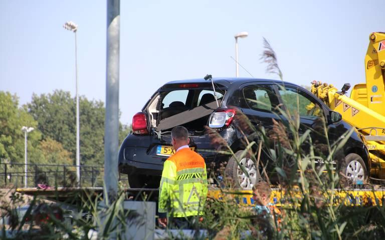 Vijf voertuigen in botsing op A7, geen gewonden.