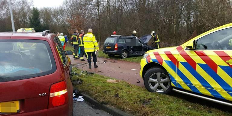 Vrouw overleden bij ongeluk in Groningen.