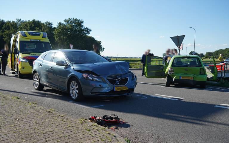 Twee gewonden bij auto-ongeluk in De Krim.