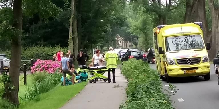 Jongetje aangereden in Eelderwolde.