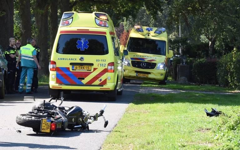 Motorrijder ernstig gewond bij ongeval in Stieltjeskanaal.