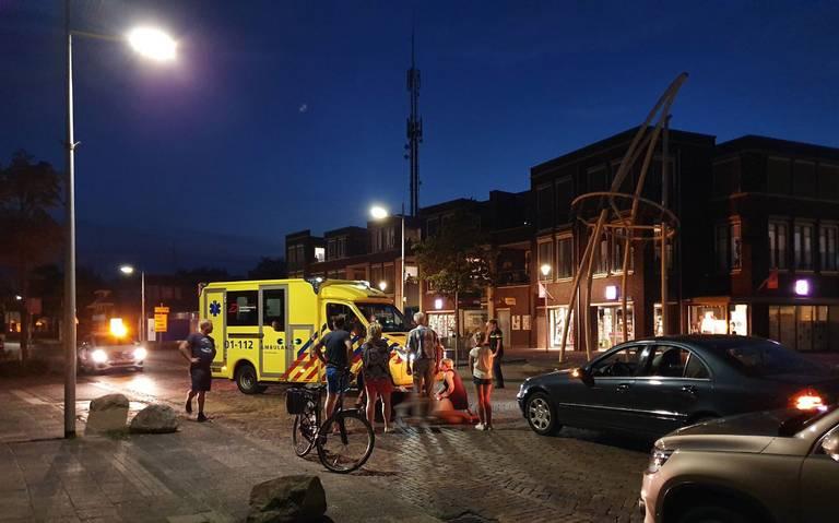 Fietsster gewond bij aanrijding met auto in Vlagtwedde.
