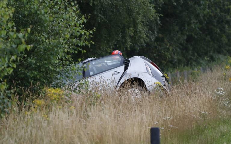 Twee gewonden na ernstig ongeval op A37 bij Nieuw-Amsterdam.