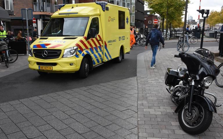 Ongeluk op A7 vanuit Drachten richting Groningen.
