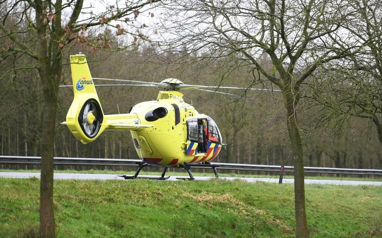 Automobilist overleden bij ongeluk op A7 tussen Zuidbroek en Sappemeer.