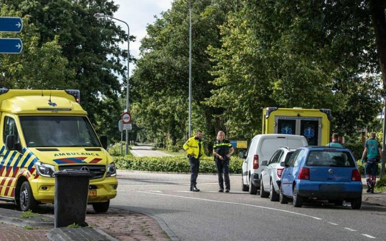 Automobilist naar ziekenhuis na kop-staartbotsing in Niebert.