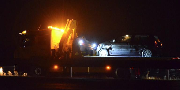 Gewonde bij ongeluk op A7.