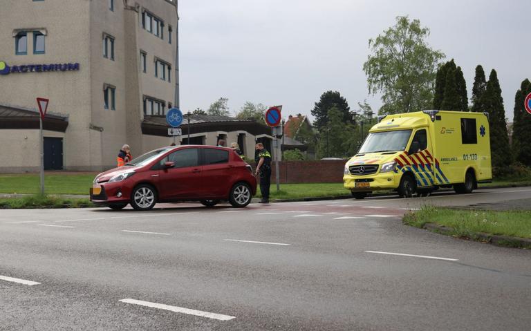 Fietser gewond bij aanrijding in Veendam.