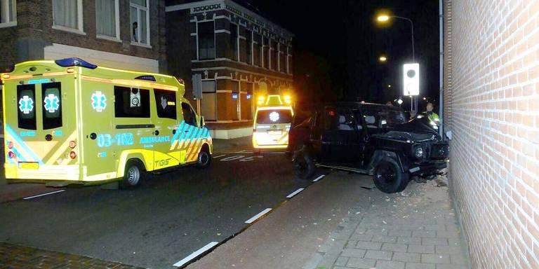 Eenzijdig ongeluk in Javastraat Assen.