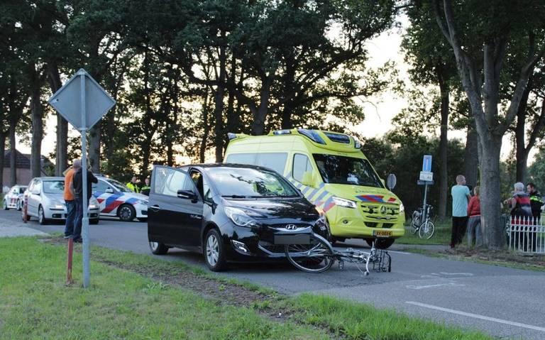 Fietser gewond bij aanrijding in Noordscheschut.