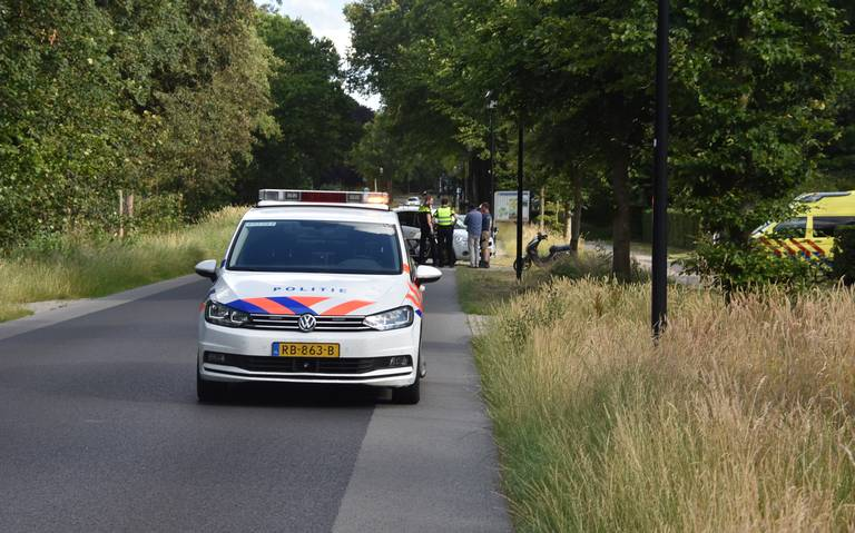 Motorrijder raakt lichtgewond bij ongeval in Wilhelminaoord.