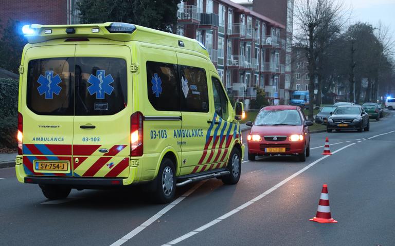 Fietser gewond bij aanrijding in Assen.