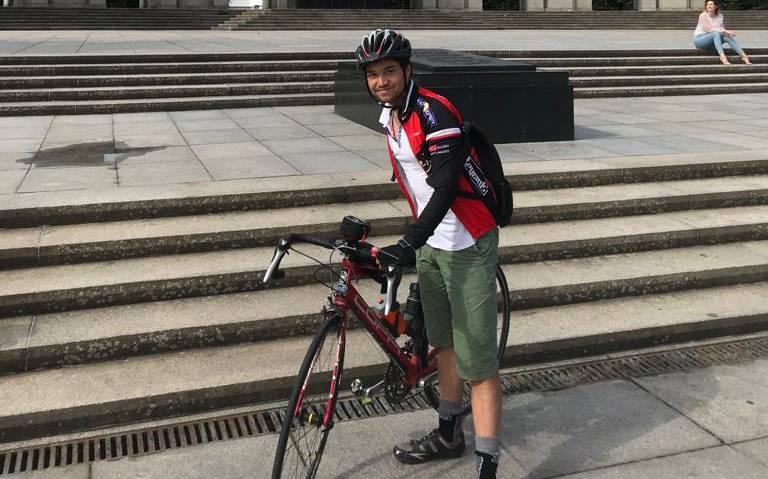 Elang uit Hoogeveen maakte een fietstocht van ruim 2.000 km door Europa. Jammer dat ik net voor het einde werd aangereden.