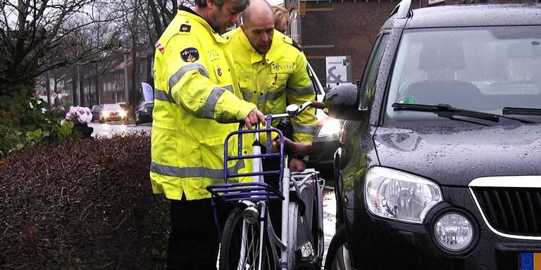 Fietsster gewond bij aanrijding in Hoogeveen.