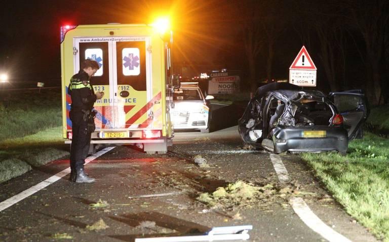 Automobilist slaat over de kop en raakt gewond bij ongeluk op de A7.