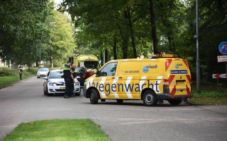 Fietser naar ziekenhuis na aanrijding met auto op Noorderstraat in Sappemeer.