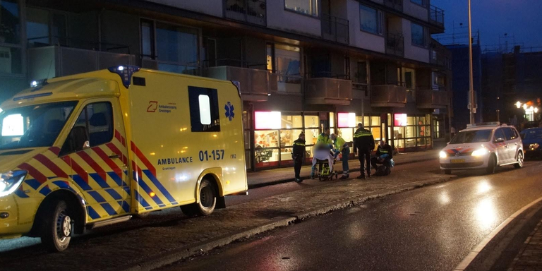 Fietser gewond na botsing met scooter in Stad.