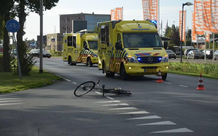 Fietsers gewond bij aanrijding in Stadskanaal.