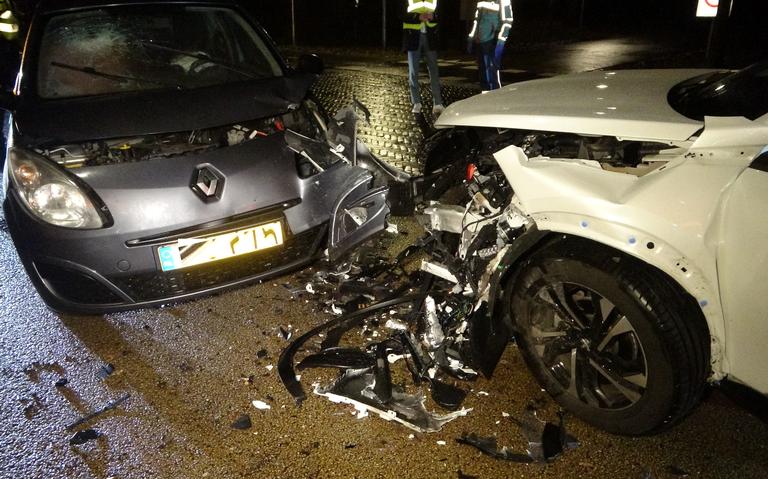 Een persoon gewond bij botsing tussen twee autos in Havelte.