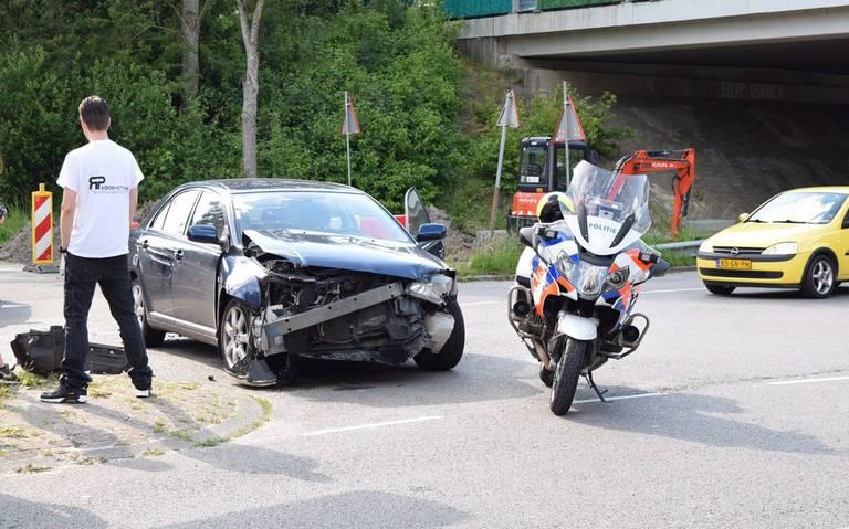 Forse schade na autobotsing Groningen.